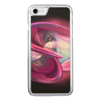 Precious Pearl Abstract Carved iPhone 7 Case