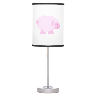 Precious Pink Little Lamb Table Lamp