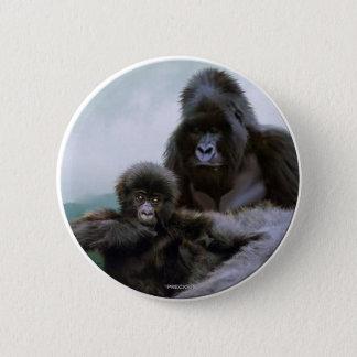"""PRECIOUS"" Primate - Mountain Gorilla Buttons"