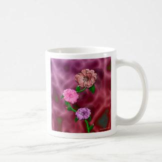Precious Rosebud Coffee Mugs