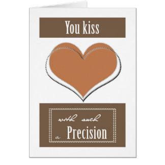 Precision Kiss Card