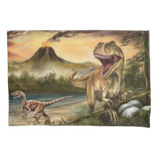Predator Dinosaurs (1 side) Pillowcase
