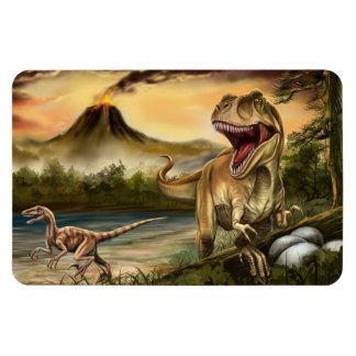 Predator Dinosaurs Flexi Magnet