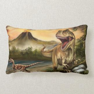 Predator Dinosaurs Lumbar Pillow
