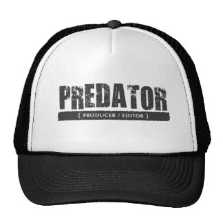 Predator (Producer / Editor) Shirt Hats