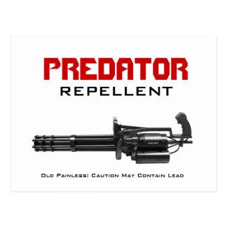 PREDATOR REPELLENT POSTCARD