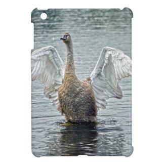 Preening Mute Swan Wildlife Waterfowl Photo Case For The iPad Mini