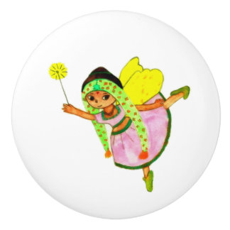 Preeti Fairy Ceramic Knob