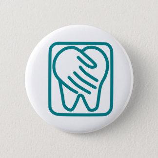 Preferred Dental Care 2 Inch Round Button