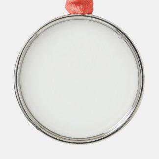 preggers Silver-Colored round ornament