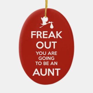 Pregnancy Announcement Aunt Ornament Christmas
