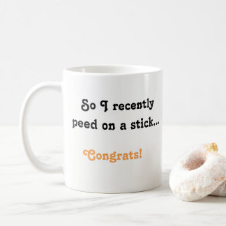 Pregnancy Announcement Mug