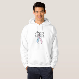 Pregnancy Infant Loss Awareness Forever Our Hearts Hoodie
