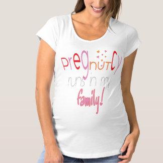 """Pregnancy """"PregNUTcy"""" Maternity TShirt"""