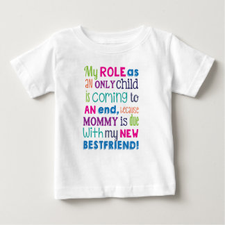 Pregnancy Reveal-New Baby Big Sister/Brother Shirt
