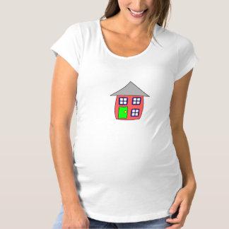 "Pregnancy T-shirt ""little house """