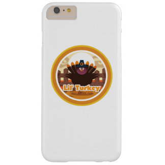 pregnancy thanksgiving announcemen Lil' Turkey Barely There iPhone 6 Plus Case
