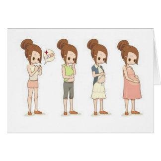 Pregnancy Trimesters Card