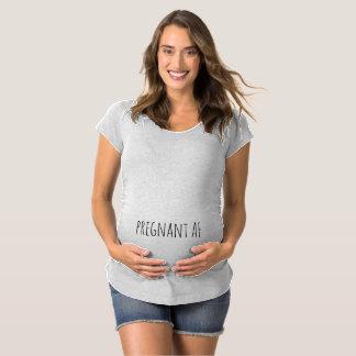 Pregnant AF Funny Maternity Shirt