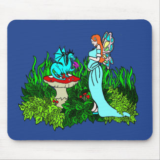 Pregnant Faerie Mouse Pad
