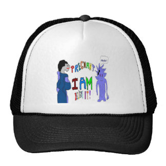 Pregnant I Am Trucker Hat