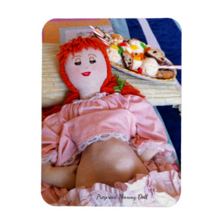 Pregnant Mommy Doll Magnet