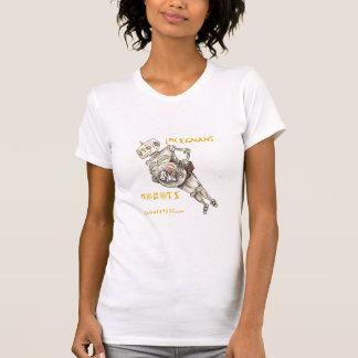 Pregnant Robots - Female (destroyed) T-Shirt