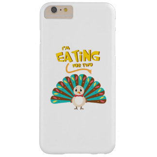 pregnant thanksgiving I'm Eating for Two Barely There iPhone 6 Plus Case