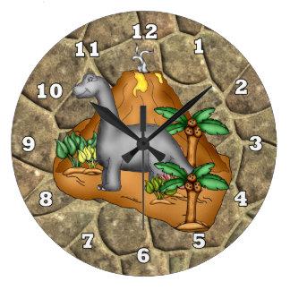 Prehistoric Dino Clock