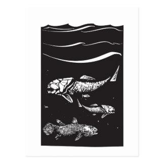 Prehistoric Fish Postcard