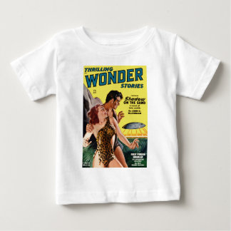 Prehistoric Flying Saucer Baby T-Shirt