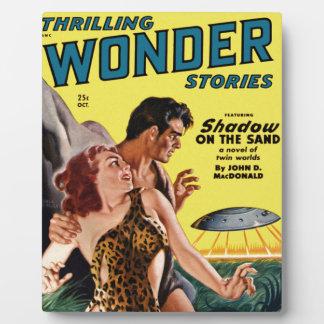 Prehistoric Flying Saucer Plaque