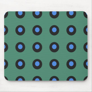 Prehistoric-Green-Blue-Unisex Mouse Pad