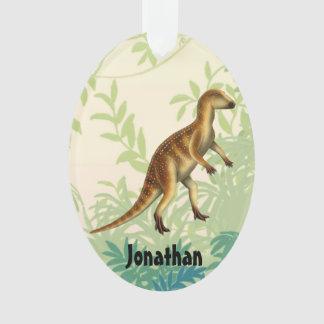 Prehistoric Hypsilophodon Dinosaur Ornament