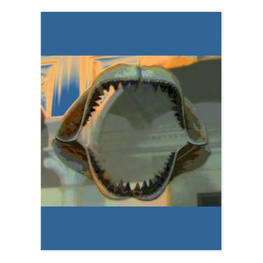 Prehistoric Jaws CB Post Card