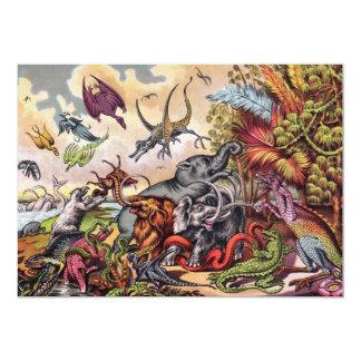 Prehistoric Playground Card
