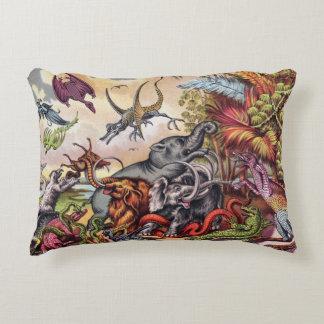 Prehistoric Playground Decorative Pillow