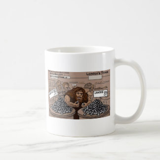 Prehistoric Retail Shopping Funny Gifts Tees Cards Classic White Coffee Mug