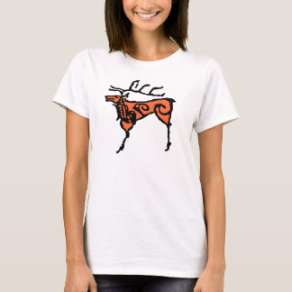 Prehistoric rock art deer T-Shirt