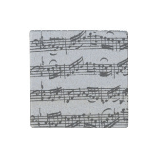 Prelude Bach Cello Suite Handwritten Stone Magnets