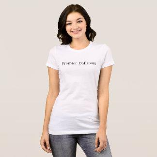 Premier Ballroom Slim Jersey T-Shirt- white T-Shirt