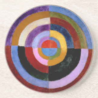 Premier Disque by Robert Delaunay Coaster
