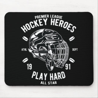Premier League Hockey Heroes Play Hard All Star Mouse Pad