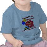 Premier T-shirt personnalisé d'anniversaire de fer