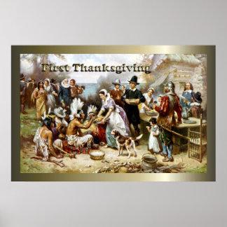 Premier thanksgiving poster