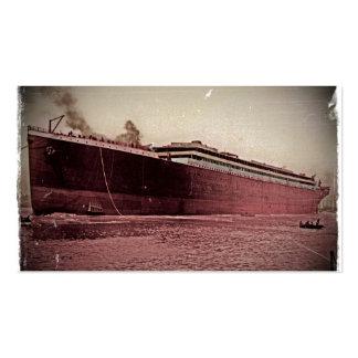 Premier voyage de RMS Titanic Cartes De Visite Professionnelles