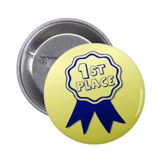 Première borne de bouton de récompense d endroit pin's avec agrafe