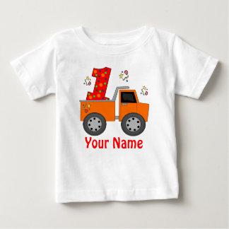 Première chemise personnalisée de camion à benne tee-shirts
