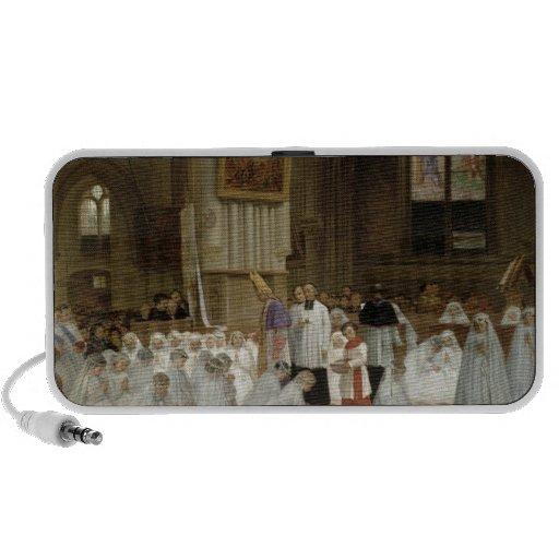 Première communion, 1867 haut-parleurs mobiles