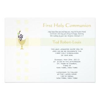 Première communion - garçon bristol personnalisé